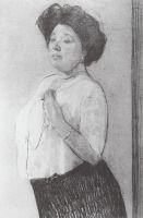 Портрет Н.П.Ламановой.