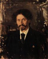 Портрет художника И.Е.Репина.