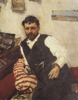 Портрет художника К.А.Коровина.