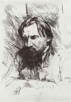 Портрет художника-гравера В.В.Матэ.
