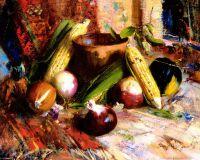 Лук и кукуруза