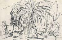Испанский пейзаж. Пальма.