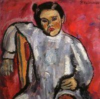 Наташа на стуле (Портрет Н.П.Кончаловской в детстве).
