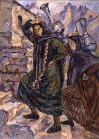 Две грузинки с кувшинами ('Каждый день к Арагве светлой').