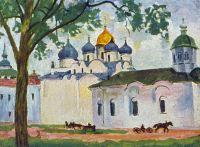Новгород. Площадь Софийского собора.