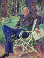 Портрет композитора Сергея Сергеевича Прокофьева.