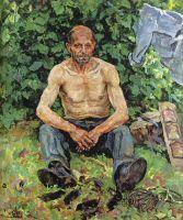 Портрет кротолова Федора Петровича.