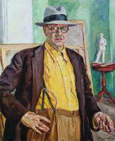Автопортрет ( в желтой рубашке).