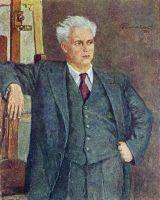 Портрет кинорежисера Александра Петровича Довженко.