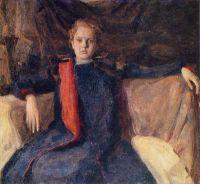 1903-04 Портрет девочки. Х., м. 100х112 Волгоград