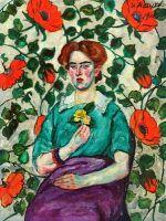 1908 Женский портрет. Минск