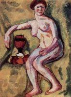 1909 Натурщица.