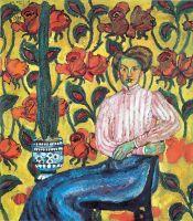 1909 Портрет В.П.Виноградовой. Х., м. ГТГ