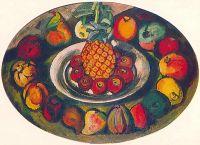 1910 Натюрморт с ананасом. Х., м. 121х171 ГРМ