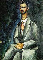 1910 Портрет поэта.