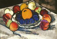 1910 Фрукты на блюде (Синие сливы). Х., м. 80.7x116.2 ГТГ