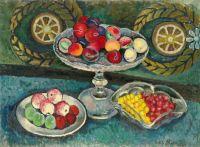 1912-14 Натюрморт с венками, яблоками и сливами. Минск