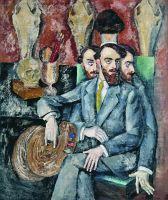 1917 Портрет художника А.И.Мильмана. Холст, масло. 167.5x142.5 Волгоград