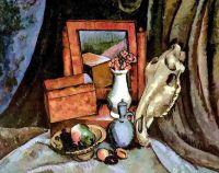 1919 Зеркало и лошадиный череп. Х., м. 110x136 ГРМ