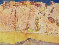 1920-е Грузия. Тифлис. Река Кура.