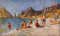 1920-е Симеизский пляж.