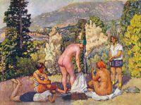1920-е Солнечные ванны в Крыму.