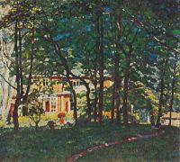 1921-22 Парк. Х., м. 70х79 Пенза
