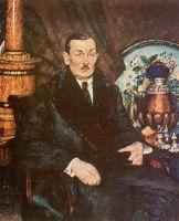 1922 Портрет А.Б. Шимановского. Саратов