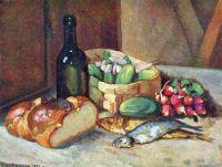 1924 Завтрак (натюрморт).