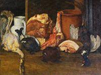 1924 Снедь московская. Мясо, дичь. ГТГ