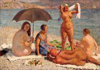 1926 На пляже. Гурзуф. Х., м. Минск