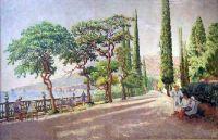 1926-29 Артек. Сентябрьское утро в Артеке.  Волгоград