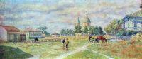 1933 Площадь в станице Михайловской. Х., м. 50х119 Волгоград