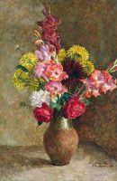 1939 Натюрморт. Цветы. Х., м. 88х58 Минск