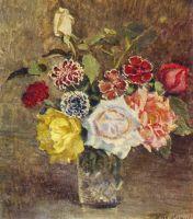 1939 Розы и гвоздики. Фрагмент. Волгоград