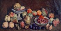 1939 Фрукты с сельскохозяйственной выставки. Айва и персики. (Вариант) Волгоград