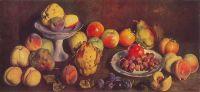 1939 Фрукты с сельскохозяйственной выставки. Х., м. 53х114 ГРМ