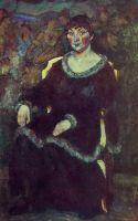 Женский портрет. Х., м. Смоленск