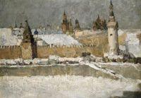 Кремль зимой.