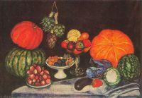 Овощи. Натюрморт. Х., м. Одесса