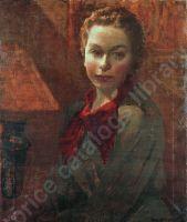 Портрет девочки. Х., м. 62х51