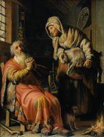 Товит и Анна с козленком