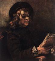 Тит во время чтения