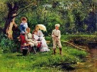 В жаркий день. 1881