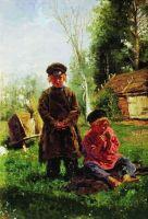 Крестьянские мальчики. 1880