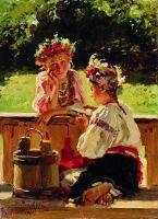 Девушки, освещенные солнцем. 1901