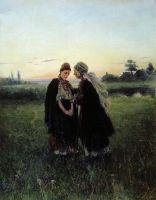Мать и дочь. 1886