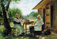 Варят варенье. 1876