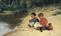 Рыбачки. 1886