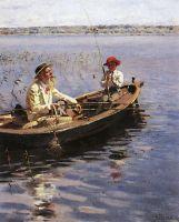 Рыбак. Финляндия. 1899